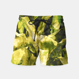 Thumbnail image of Green Nature Swim Shorts, Live Heroes