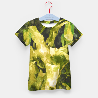 Thumbnail image of Green Nature Kid's T-shirt, Live Heroes