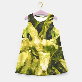 Thumbnail image of Green Nature Girl's Summer Dress, Live Heroes