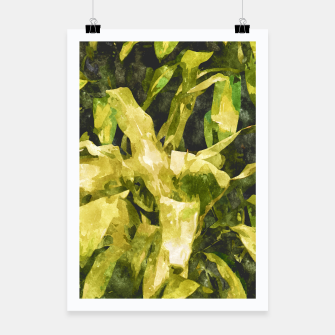 Thumbnail image of Green Nature Poster, Live Heroes