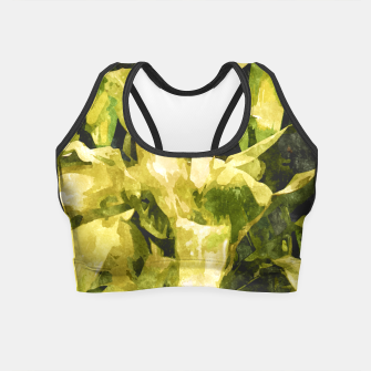 Thumbnail image of Green Nature Crop Top, Live Heroes