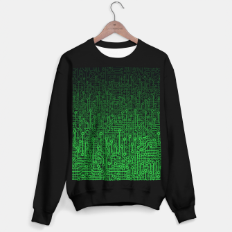 Reboot II GREEN Sweater regular thumbnail image