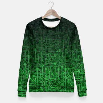 Thumbnail image of Reboot II GREEN Fitted Waist Sweater, Live Heroes