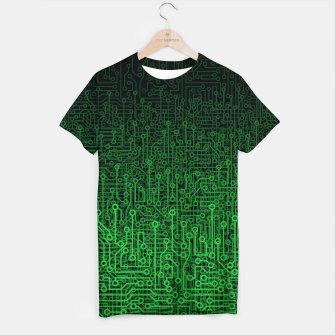 Thumbnail image of Reboot II GREEN T-shirt, Live Heroes