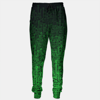 Thumbnail image of Reboot II GREEN Sweatpants, Live Heroes