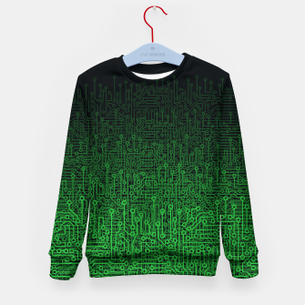 Reboot II GREEN Kid's Sweater thumbnail image
