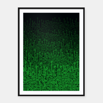 Thumbnail image of Reboot II GREEN Framed poster, Live Heroes