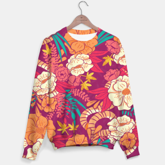 Jungle Pattern 002 Sweater Bild der Miniatur