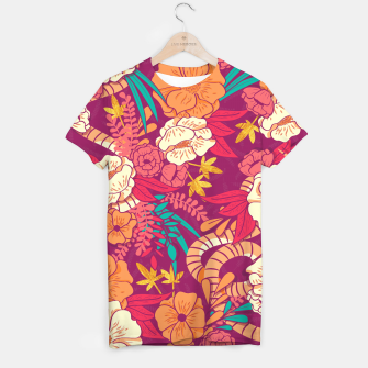 Jungle Pattern 002 T-shirt Bild der Miniatur