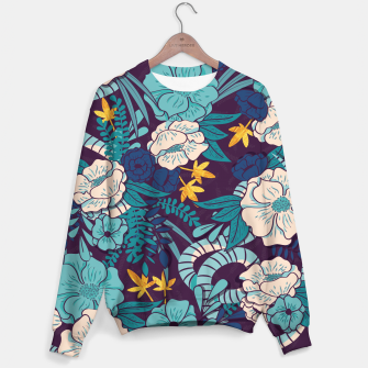 Thumbnail image of Jungle Pattern 003 Sweater, Live Heroes