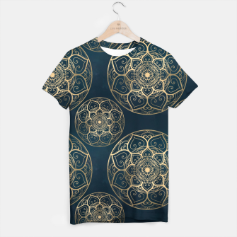 Thumbnail image of Mandala Night Blue T-shirt, Live Heroes