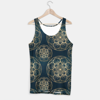 Thumbnail image of Mandala Night Blue Tank Top, Live Heroes