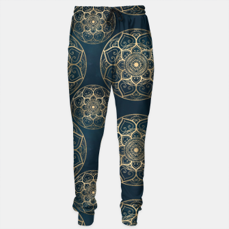 Thumbnail image of Mandala Night Blue Sweatpants, Live Heroes
