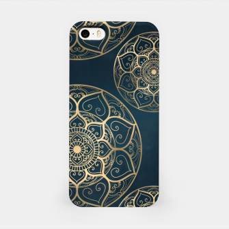 Thumbnail image of Mandala Night Blue iPhone Case, Live Heroes