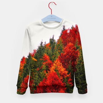 Thumbnail image of Autumn shades Kid's Sweater, Live Heroes