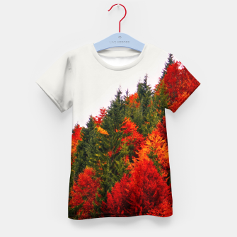 Thumbnail image of Autumn shades Kid's T-shirt, Live Heroes