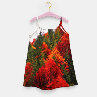 Thumbnail image of Autumn shades Girl's Dress, Live Heroes
