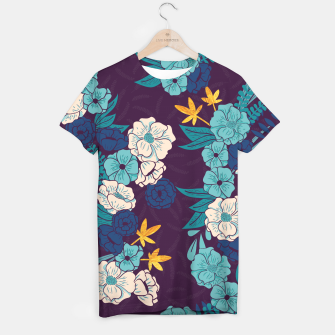 Jungle Pattern 004 T-shirt Bild der Miniatur