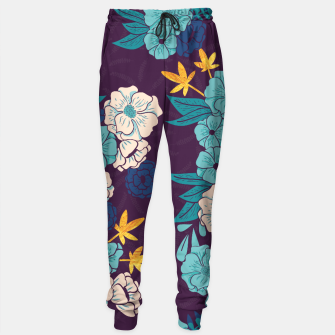 Jungle Pattern 004 Sweatpants Bild der Miniatur