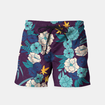 Jungle Pattern 004 Swim Shorts Bild der Miniatur