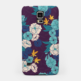 Jungle Pattern 004 Samsung Case Bild der Miniatur