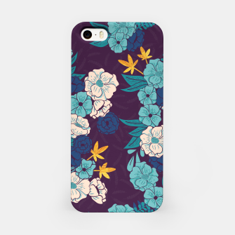 Jungle Pattern 004 iPhone Case Bild der Miniatur