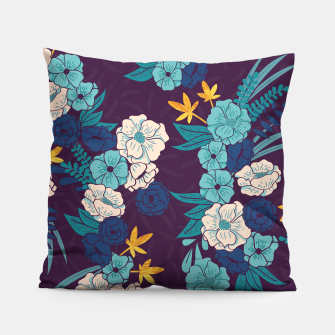 Jungle Pattern 004 Pillow Bild der Miniatur