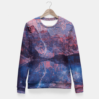 Thumbnail image of Glitch3d Fitted Waist Sweater, Live Heroes