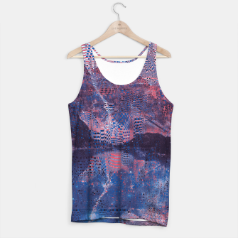 Thumbnail image of Glitch3d Tank Top, Live Heroes