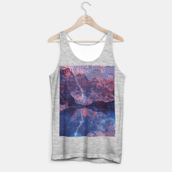 Thumbnail image of Glitch3d Tank Top regular, Live Heroes