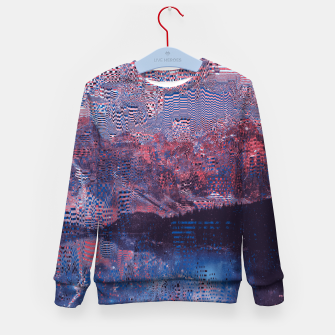 Thumbnail image of Glitch3d Kid's Sweater, Live Heroes