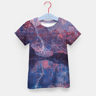 Thumbnail image of Glitch3d Kid's T-shirt, Live Heroes