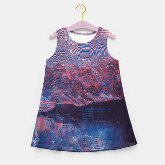 Thumbnail image of Glitch3d Girl's Summer Dress, Live Heroes