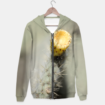 Miniatur Yellow flower opuntia Sudadera con capucha, Live Heroes
