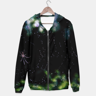 Thumbnail image of The spiderweb Hoodie, Live Heroes