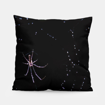 Thumbnail image of The spiderweb Pillow, Live Heroes