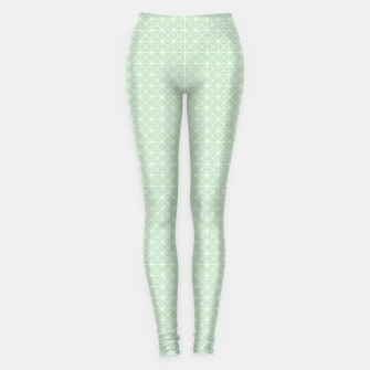 Thumbnail image of geometry graphic design Leggings, Live Heroes