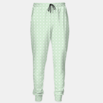 Thumbnail image of geometry graphic design Sweatpants, Live Heroes