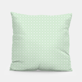 Thumbnail image of geometry graphic design Pillow, Live Heroes