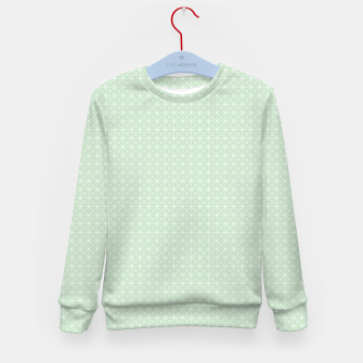 Thumbnail image of geometry graphic design Kid's Sweater, Live Heroes