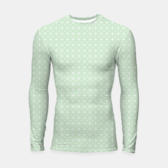 Thumbnail image of geometry graphic design Longsleeve Rashguard , Live Heroes