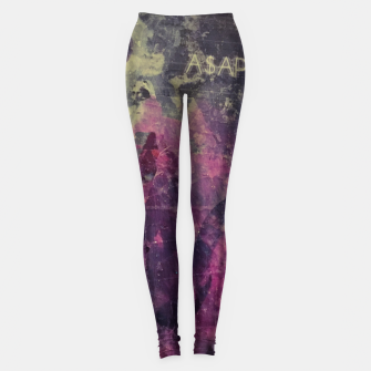 Miniatur STREET COLLAGE Leggings, Live Heroes