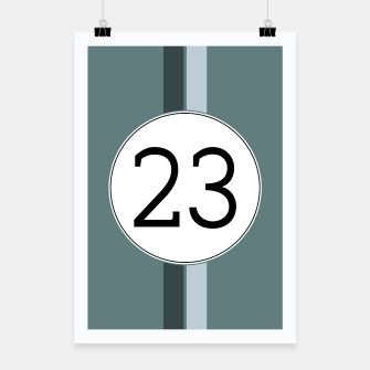 Miniatur Rally 23 Poster, Live Heroes