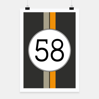 Miniatur Rally 58 Poster, Live Heroes
