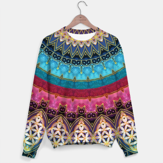 Thumbnail image of Sacred Feminine Soul Geometry  Sweater, Live Heroes