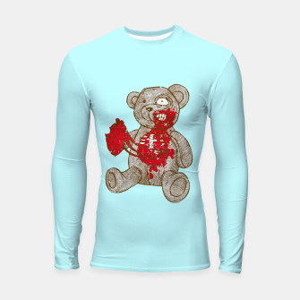 Thumbnail image of Give me your heart, give me your soul Longsleeve Rashguard , Live Heroes