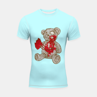 Miniaturka Give me your heart, give me your soul Shortsleeve Rashguard, Live Heroes