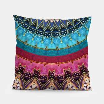 Thumbnail image of Sacred Feminine Soul Geometry  Pillow, Live Heroes
