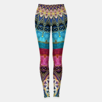 Thumbnail image of Sacred Feminine Soul Geometry  Leggings, Live Heroes