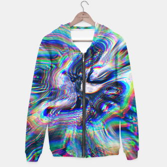 Miniatur Abstract Marble Glitch Hoodie, Live Heroes